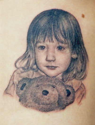 Little Girl Teddybear